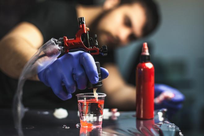how to make tattoo ink thicker
