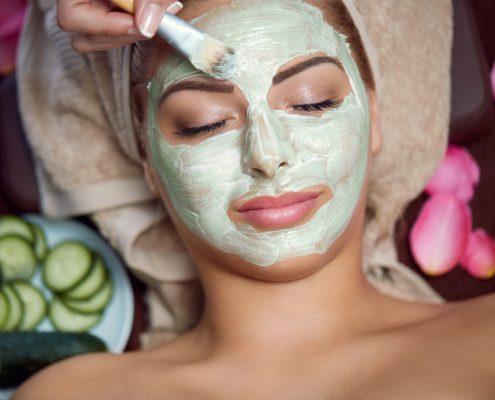 Renude Green Mask